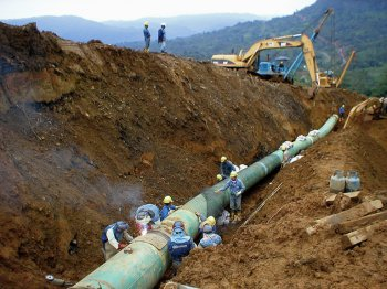 Planificación de los Gasoductos, y un saludo especial...